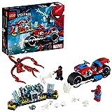 LEGO- Super Heroes Salvataggio sulla Moto di Spiderman, Costruzioni, Colore, 76113
