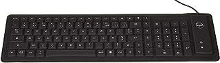 Mobility Lab ML300559 Clavier Flexible USB, Noir