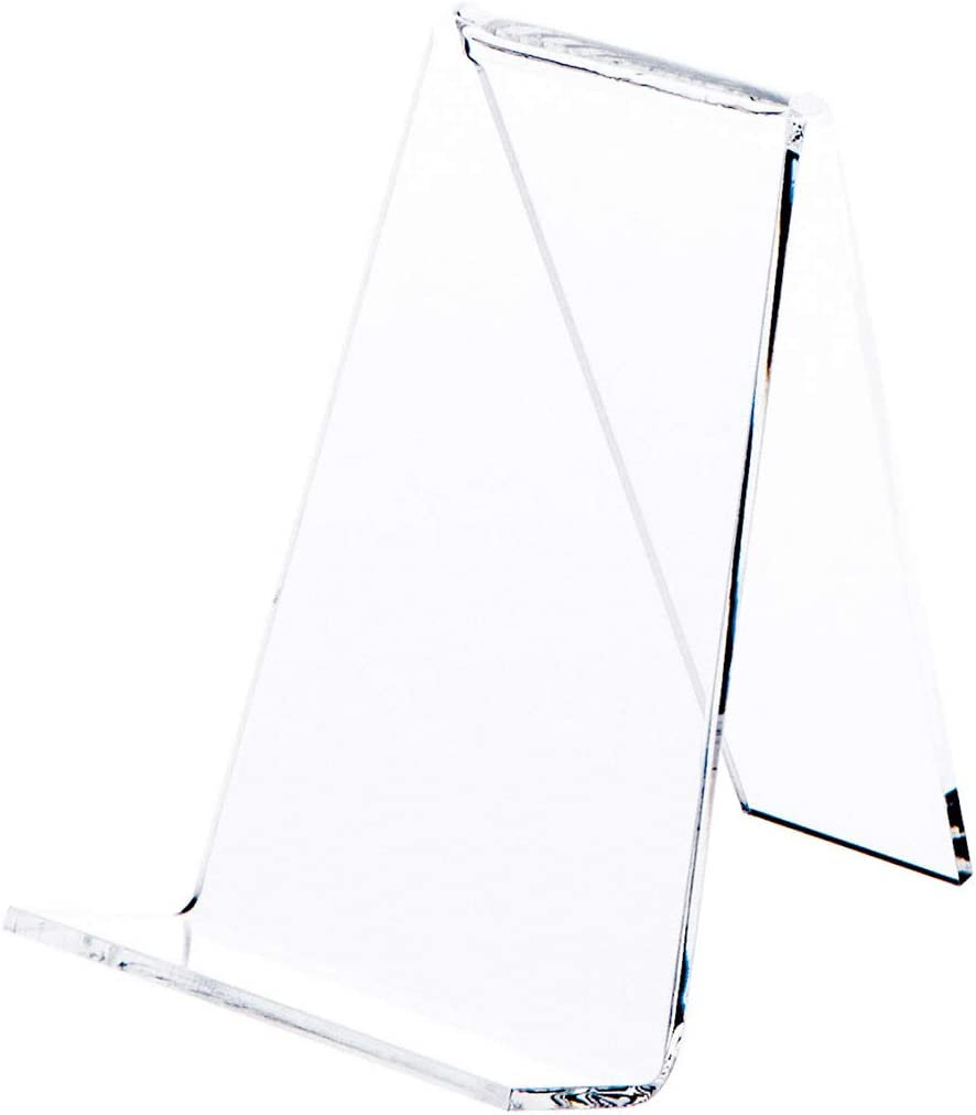 Plymor Clear Acrylic Book Easel with Super Cheap beauty product restock quality top 1.125
