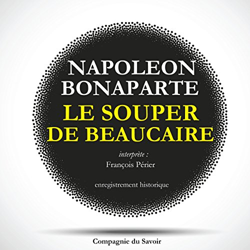 Le souper de Beaucaire audiobook cover art