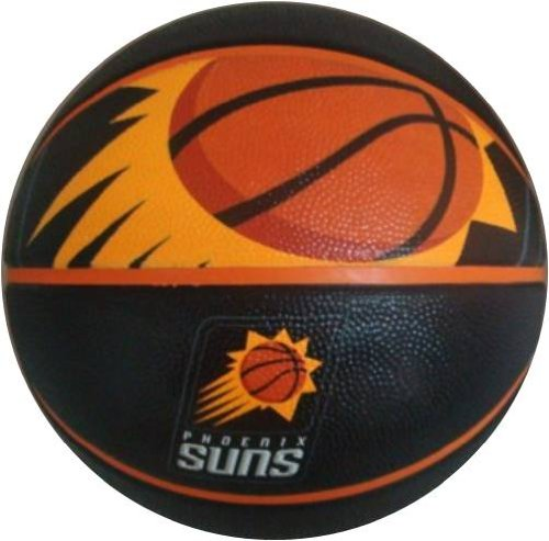 Save %23 Now! Spalding NBA Phoenix Suns Team Logo Basket Ball, 29.5, Black