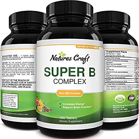 Health Shopping Vitamin B Complex Adult Multivitamin – Super B Complex