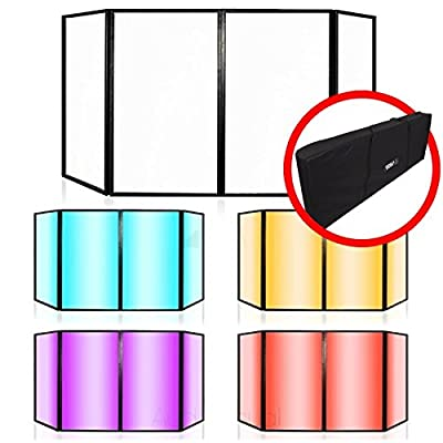 Lime Light Foldable DJ Screen Disco Stage Band Lighting Screen Effects Facade Including FREE Carry Bag