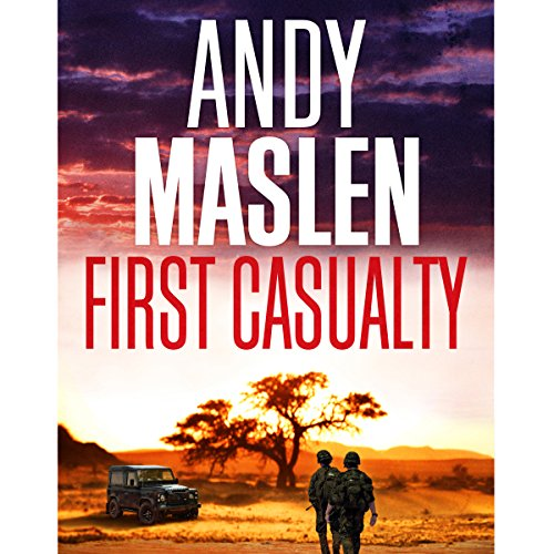 First Casualty audiobook cover art
