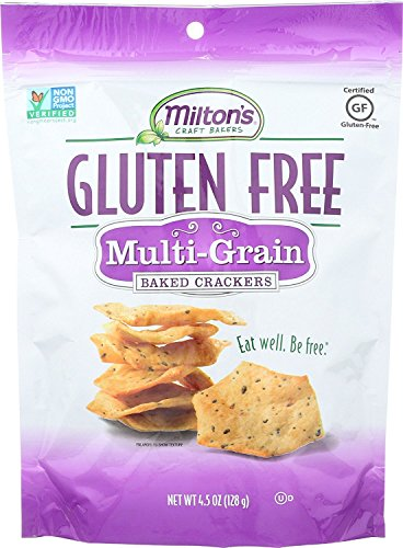 Miltons Multi Grain Cracker, 4.5 Ounce -- 12 per case.