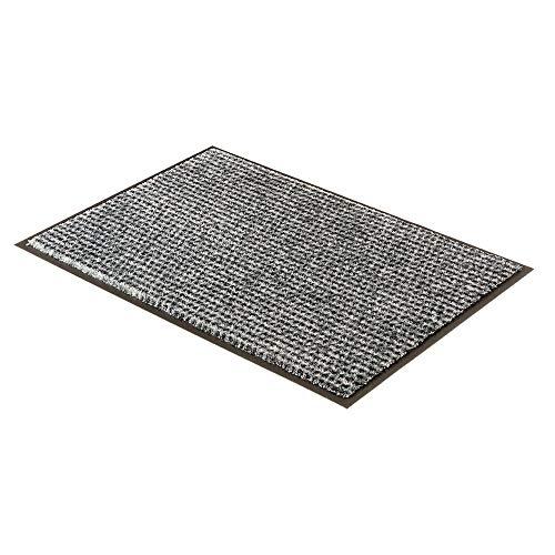 Schöner Wohnen Fussmatte Miami Punkte Silber 004   67x100 cm