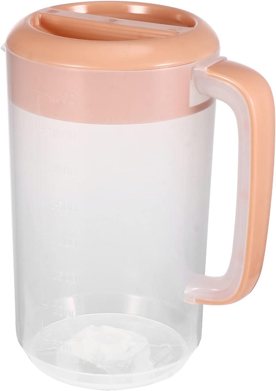Cabilock Large Cold Water specialty shop Pitcher Juice Ice 4000ml Tea wholesale Pot