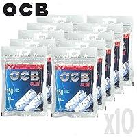 Solo Por NAVIDAD10 Bolsas de Filtros OCB Slim. Cada bolsa precintada contiene 150 filtros. Cada filtro cuenta con un grosor de 6 mm. Oferta total: 1500 filtros por tan sólo