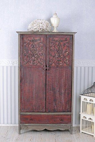Kleiderschrank Chinesischer Hochzeitsschrank Asia Vintage Shabby antik AWC017 Palazzo Exklusiv