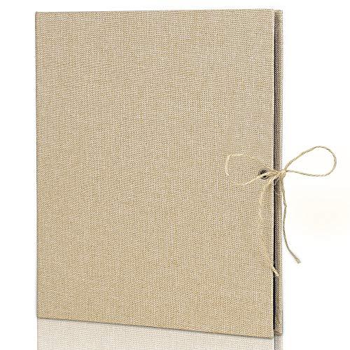 Nasharia Fotoalbum om zelf vorm te geven, linnen zwarte pagina's scrapbook 240 foto's album voor baby, Valentijnsdag, verjaardag, jubileum, stamboek, vrouwen cadeau