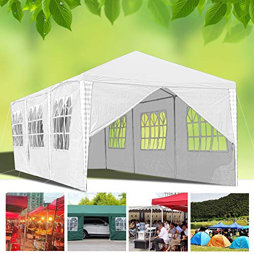 Hengda 3x9m Waterproof Gazebo with Sides Panels UV Protection Party Tent Camping Event shelter