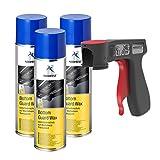 AUPROTEC Unterbodenschutz Wachs Steinschlagschutz Bottom Guard Wax Spray 3X 500ml