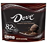 Contains one (1) 7.23-ounce bag of Silky Smooth Promises Dark Chocolate 82% Cacao Made with silky smooth dark chocolate, these Dark Chocolate 82% Cacao Candies are a delicious afternoon treat Every bite of enjoyment contains only the finest quality c...