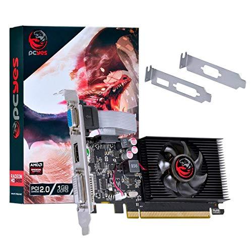 PLACA DE VIDEO AMD RADEON HD 5450 1GB DDR3 64 BITS COM KIT LOW PROFILE INCLUSO - PJ54506401D3LP