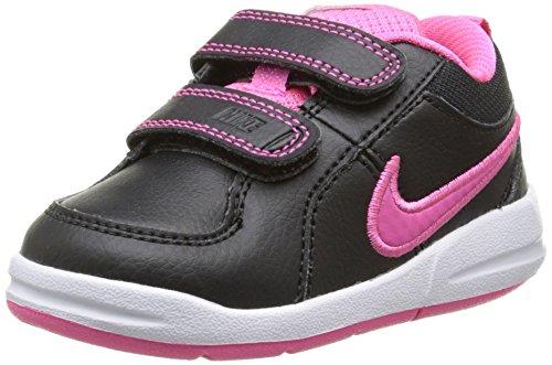 Nike Baby Mädchen Pico 4 Lauflernschuhe, Schwarz (Black/Hyper Pink), 25 EU