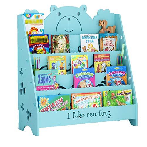 Cdbl Kinderplanken Vloerstaande Huishoudelijke Rack Eenvoudige Baby Boekenkast Eenvoudige Boekenkast Kleine Kinderboekenkast Fotolijst Plank