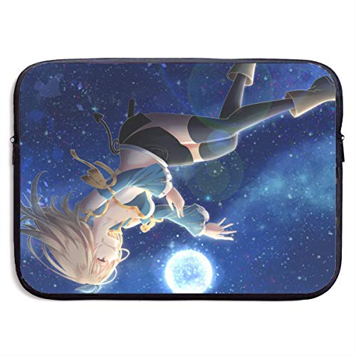 Anime Game Girl Laptop Tragetasche Tablet Aktentasche Ultra Portable Computer Schutz Taschen
