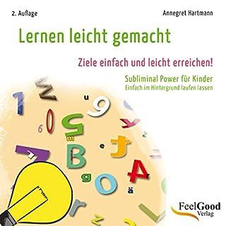 Lernen leicht gemacht. Subliminal-Hörbuch für Kinder Titelbild