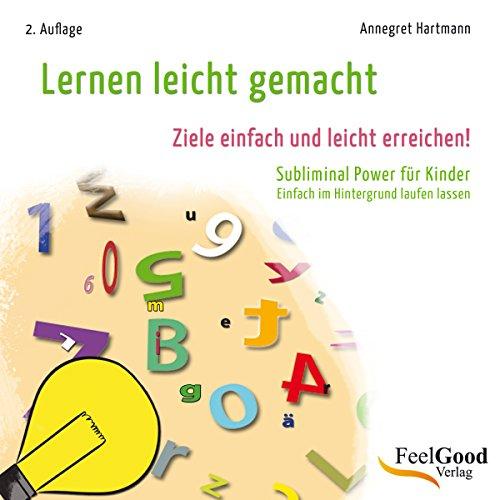 Lernen leicht gemacht. Subliminal-Hörbuch für Kinder audiobook cover art