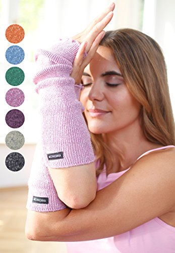 Yogistar Yoga Armwärmer Graphite - Baumwolle