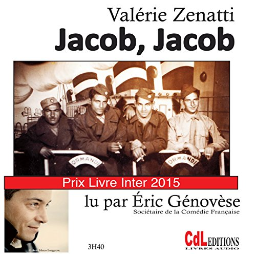 Jacob, Jacob audiobook cover art