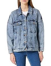 ONLY kurtka jeansowa panie ONLSAFE LIFE LS OVERSZE JCKET BB PIM663