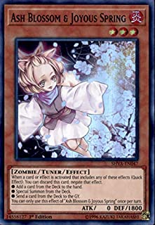 Yu-Gi-Oh! - Ash Blossom & Joyous Spring - SHVA-EN047 - Super Rare - 1st Edition - Shadows In Valhalla