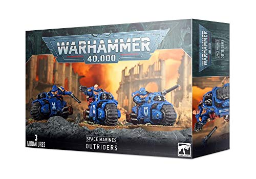 Games Workshop Warhammer 40k - Space Marine Primaris Outriders