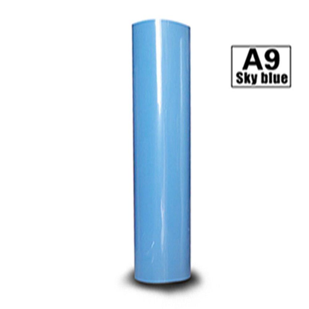 Vinilo adhesivo permanente de PVC hojas Surtido Multi Color con papel de transferencia para expresión Cricut