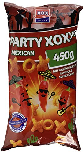 XOX Gebäck Party-XOXys Mexican-Style, 450 g