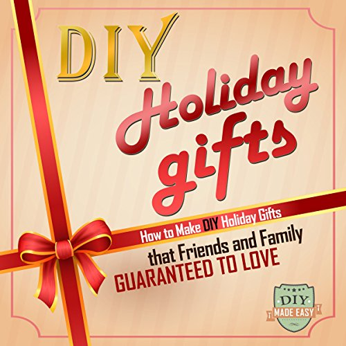 DIY Holiday Gifts audiobook cover art