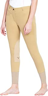 TuffRider Women's Pull-on Knee Patch Breeches