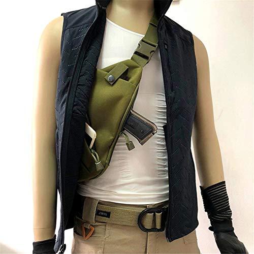JIANEEXSQ Men's Shoulder Bag Gun Case Single Bag Tactical...