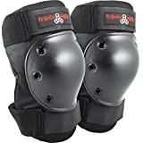 Triple Eight Kneesaver Knee Pads (1-Pair), Black, One Size