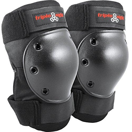 Triple Eight Kneesaver Knee Pads (1-Pair), Black, One Size