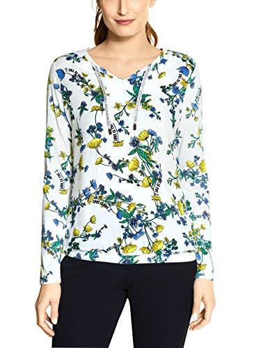 Cecil Damen 314593 Tunika-Shirt, Light Alabaster Beige, Small