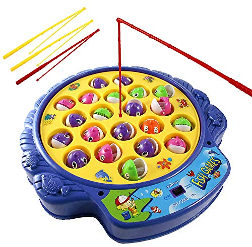 Haktoys Fishing Game Toy Set with...