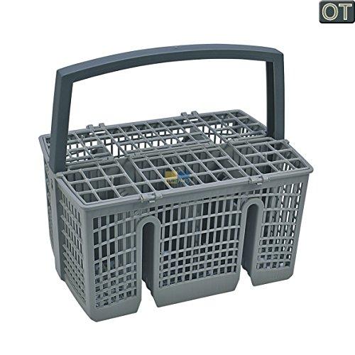ORIGINAL Bosch Siemens 00668270 668270 Besteckkorb Korb Geschirrkorb 230 x 160 x 220 mm grau Geschirrspüler Spülmaschine