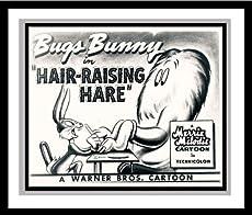 "Bugs Bunny and Gossamer in \\""Hair-Raising Hare\\"" Studio Lobby Card Publicity Still"