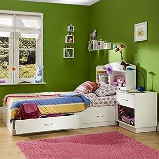 Amazon.com: White - Bedroom Sets / Bedroom Furniture: Home ...