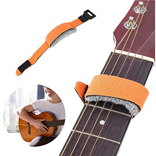 Xkfgcm Guitar Strings Muter Guitar Mute String Dampener Guitarra Ajustable Ukulele Cadena...