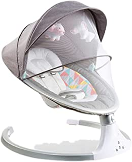 Baby Rocking Chair Baby Swing Electric Baby Cradle with Bluetooth Control Cradle Rocking Chair Newborns Swing Chair