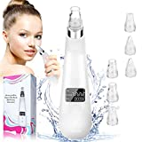 2021 UPGRADED Blackhead Remover Vacuum, Electric Skin Pore Cleaner Blackhead Vacuum Suction Removal Rechargeable Skin Peeling Machine Comedone Acne Comedo Suction Beauty Device For Nose Face Women Men