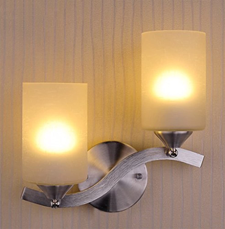 Einfache und moderne kreative warme LED-Aluminium-Wandleuchte Wandleuchte Wohnzimmer Schlafzimmer Nacht Studie Flur Corridor Hotel