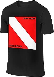 Van Halen Diver Down Band Mens Summer Round Neck Cotton Loose T-Shirt
