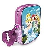 Star Licensing Disney Princess Tracolla 3D Borsa Messenger, Multicolore