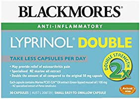 Blackmores Lyprinol Double (30 Capsules)