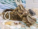 Ebros Bronze Giant Kraken Octopus Guarding Pirate Treasure Decorative Jewelry Box Figurine