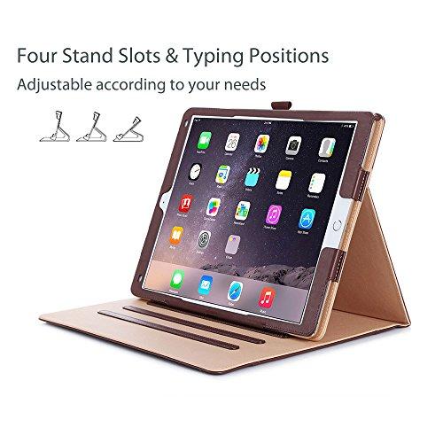 ProCase Apple iPad Pro Hülle Leder Stand Folio Hülle für 2017 Apple iPad Pro 12.9 Zoll A1670, A1671 und 2015 iPad Pro 12.9