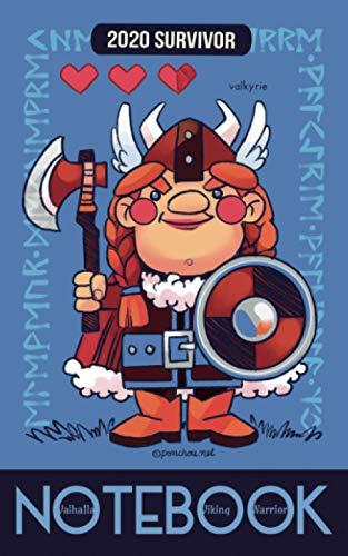 Valhalla Viking Warrior Notebook - Valkyrie: carnet de notes